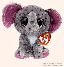 specks ty beanie boos elephant
