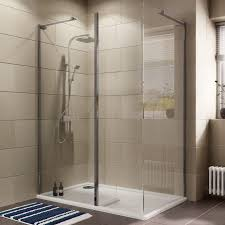 B Q Bathrooms Showers Cooke Lewis Luxuriant Rectangular Lh Shower Enclosure Tray