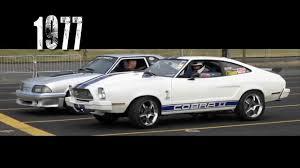 77 mustang cobra 2 1977 modified mustang cobra ii part 2 drag racing
