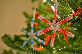 How To Make Christmas Ornaments Out Of Beads - scissors and spice december 2012
