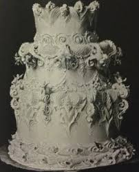 wedding cake history stalking the époque royal icing the wedding cake of king