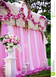 wedding backdrop outdoor pink wedding backdrop for party stock photo image 47426187