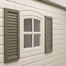 lifetime decorative shutters brown sam s club