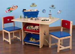 contemporary children wooden table and chair furniture design for