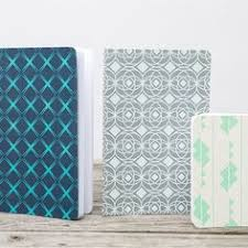 Decorative Journals Set Of 4 Mini Decorative Journals With Mountain Pattern