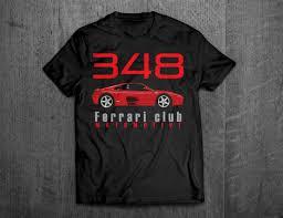 ferrari clothing ferrari shirts ferrari 348 ferrari t shirts cars t shirts men