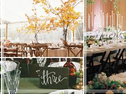 Fall Table Decorations For Wedding Receptions - 7 wedding trends for fall
