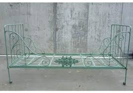 Wrought Iron Daybed Wrought Iron Daybed Green Folding Wrought Iron Daybed Wrought