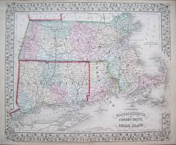 Massachusetts County Map by Antique Maps Of Massachusetts