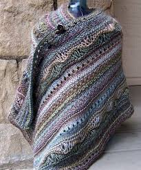 25 unique knitted shawls ideas on free knit shawl