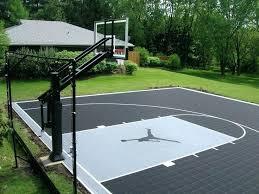 backyard basketball court ideas u2013 mobiledave me