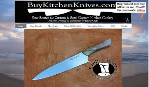 100 custom kitchen knives making a custom knife the bowie
