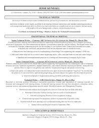 Technical Cover Letters Cover Letter Entry Level Technical Writer Shishita World Com