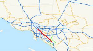 Ana Route Map Santa Ana Freeway Wikipedia