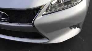 lexus es300 2013 how to remove install grille front bumper on a 2013 2014 2015