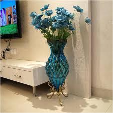 living room flower vase for living room big flower