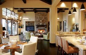 open floor plan kitchen family room design fascinating interior design open space modern fireplace