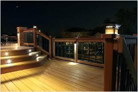solar powered deck post lights solar light for deck post solar lights for deck posts light post