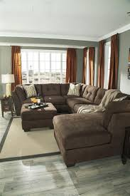Oversized Sectional Sofa Oversized Sectional Delta City Brown Microfiber Oversized