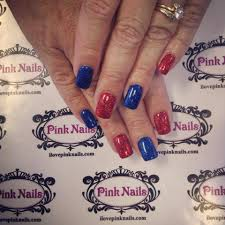 red and blue rock star nails jpg 960 960 hanlie pinterest