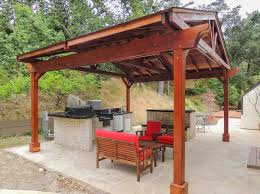 Design An Outdoor Kitchen by How To Design An Outdoor Kitchen Pavilion So That More Beautiful