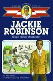 jackie robinson young sports trailblazer by herb dunn scholastic