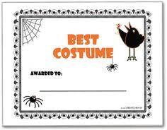 diy costume contest ballots halloween ideas pinterest diy