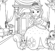 cinderella coloring pages free kids games kidonlinegame