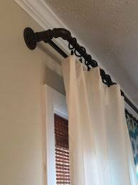 double curtain rod set double drapery rod great pictures 5