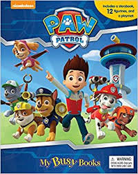 paw patrol busy book phidal publishing 8581993720967