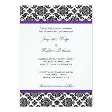 Damask Wedding Invitations 267 Best Purple Black Damask Wedding Invitations Images On