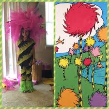 Lorax Halloween Costume Truffula Tree Costume Dr Seuss Kasey Kids Clothes