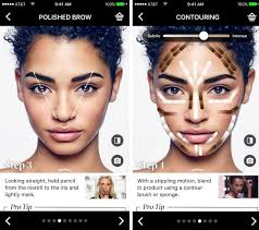 make up artist app sephora s ar app update lets you try makeup on at home