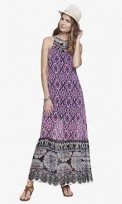 express dress print maxi dress from express