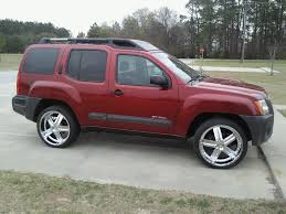 red nissan frontier lifted another suspension opinion second generation nissan xterra