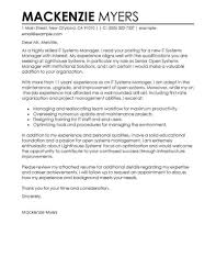 cover letter exles best it cover letter exles livecareer