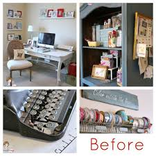 Home Craft Room Ideas - pink green girly u0026 organized ultimate home office craft room