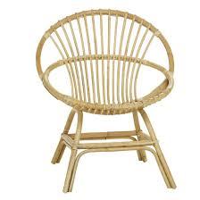 siege en rotin fauteuil en rotin naturel brigitte le fauteuil coquille de kok