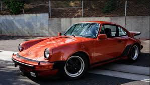 porsche 930 turbo 1976 1976 porsche 930 sunroof coupe salmon metallic for sale in california