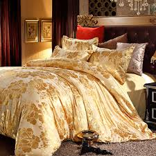 Discount Designer Duvet Covers 20 Fancy Golden Colored Bed Linens Home Design Lover