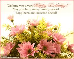 a beautiful birthday wish free colleagues ecards 123