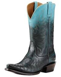 womens boots blue ariat s ombre snip toe boots blue
