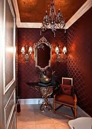 Wallpaper Designs For Bathroom Colors 20 Gorgeous Wallpaper Ideas For Your Powder Room