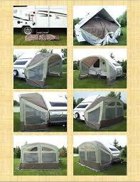 Camping Trailer Awnings Folding Camping Trailer Travel Trailer Awning Screen Room Travel