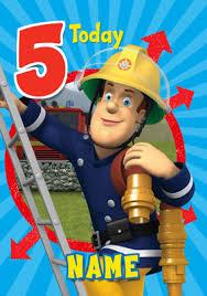 fireman sam birthday u0026 greeting cards funky pigeon
