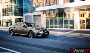 lexus rc vs gs lexus gs f and rc f upgraded with adaptive variable suspension