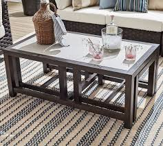Expandable Coffee Table St Johns Expandable Coffee Table Pottery Barn