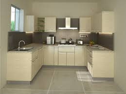 Modular Kitchen Designs Catalogue Cream Colour Modualr Kitchen Design U Shaped Modular Kitchen