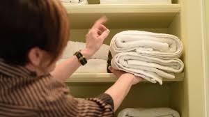 interior design towel storage hack youtube