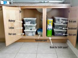 How To Organize Under Your Bathroom Sink - how to organize your bathroom free printable honest and truly
